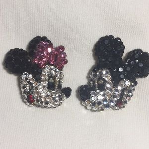 Wendy Gell / Disney Co.  Swarovski  Clip Earrings
